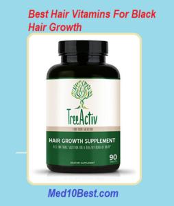 Best Hair Vitamins For Black Hair Growth
