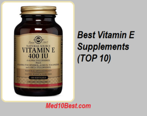 Best Vitamin E Supplements