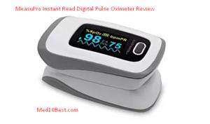 MeasuPro Instant Read Digital Pulse Oximeter Review