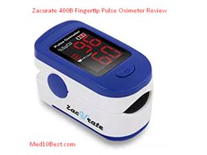 Zacurate 400B Fingertip Pulse Oximeter Review