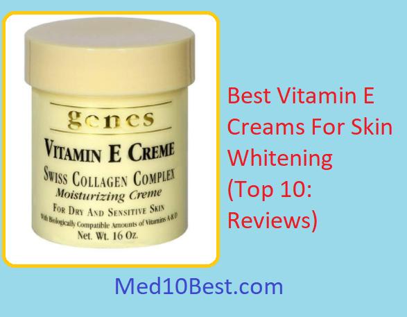 Vitamin e for skin whitening
