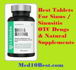 Best Tablets for Sinus