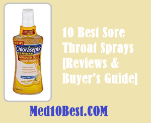 Best Sore Throat Sprays